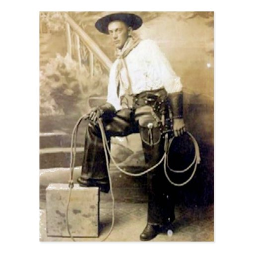 vintage cowboys 20 postcard zazzle