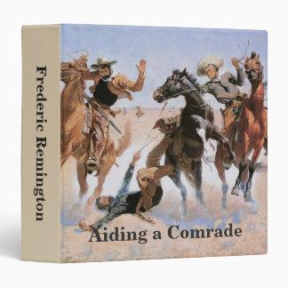 Vintage Cowboys, Aiding a Comrade by Remington Binder