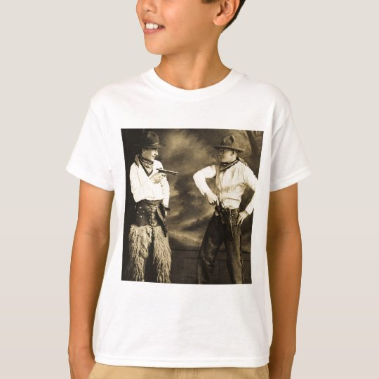 Vintage Cowboys and their Six Shooters T-Shirt