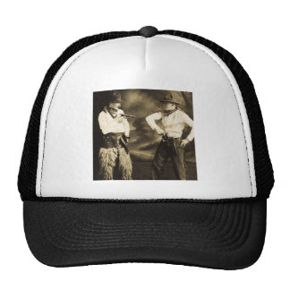 Vintage Cowboys and their Six Shooters Trucker Hat