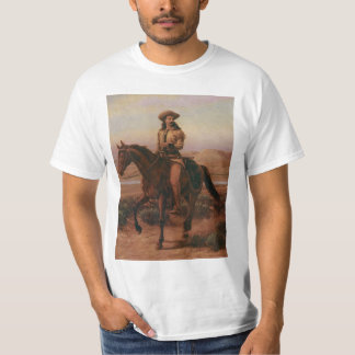Vintage Cowboys, Buffalo Bill on Charlie by Cary T-Shirt