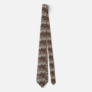 Vintage Cowboys, In Without Knocking by CM Russell Neck Tie