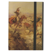 Vintage Cowboys, Jerked Down by CM Russell Case For iPad Air