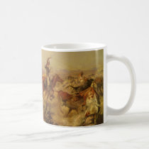 Vintage Cowboys, Jerked Down by CM Russell Coffee Mug