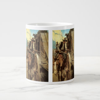 Vintage Cowboys, The Admirable Outlaw by NC Wyeth Large Coffee Mug