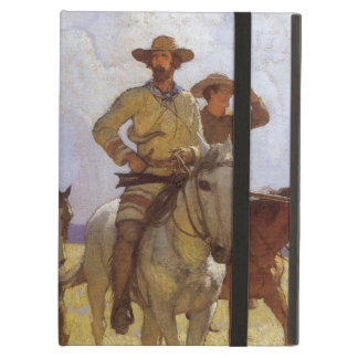 Vintage Cowboys, The Parkman Outfit by NC Wyeth iPad Air Case