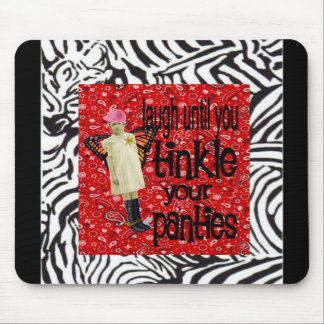 Vintage Cowgirl Chic Mouse Pad