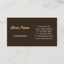 vintage cowgirl fashion southwestern leather business card