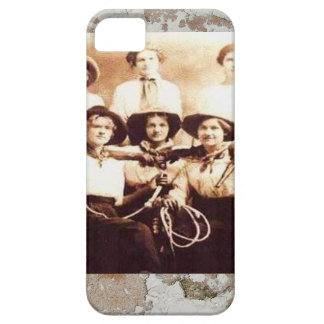 Vintage Cowgirl Group Photo Western Rodeo iPhone SE/5/5s Case
