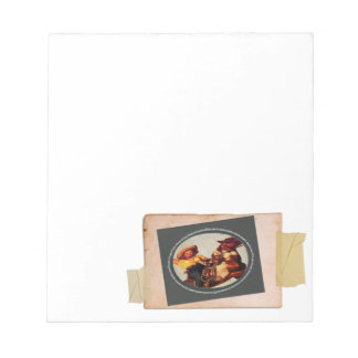 Vintage Cowgirl Memo Notepads