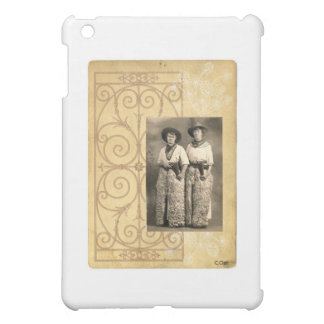 Vintage Cowgirl Sisters Western Photo Art Case For The iPad Mini