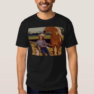 Vintage Cowgirl Tee Shirts