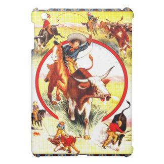 """ Vintage Cowgirl"" Western IPad Case"