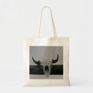 Vintage Cowskull Tote