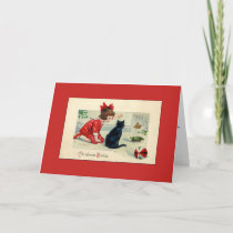 Vintage - Cozy Christmas Wishes, Card
