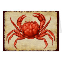 Vintage Crab Design