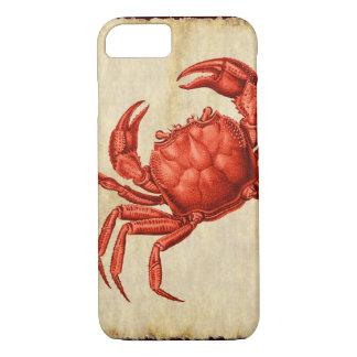 Vintage Crab Design iPhone 8/7 Case