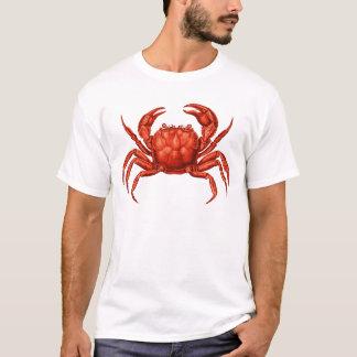Vintage Crab Design T-Shirt