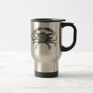 Vintage Crab Drawing 15 Oz Stainless Steel Travel Mug