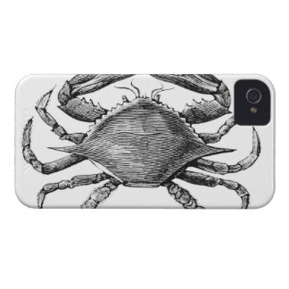 Vintage Crab Drawing Case-Mate iPhone 4 Case