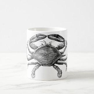 Vintage Crab Drawing Mug