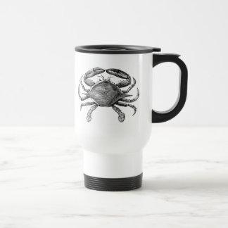 Vintage Crab Drawing Coffee Mug