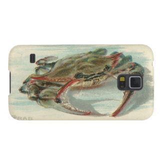 Vintage crab nautical steampunk preppy hipster galaxy s5 cover