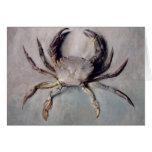 Vintage Crab Painting Card