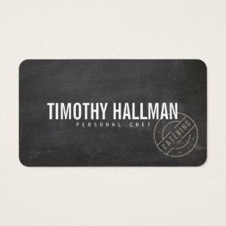 Vintage Craft Rustic Modern Chalkboard II Business Card