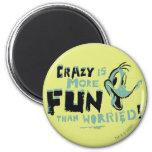Vintage Crazy Daffy Duck Fridge Magnets