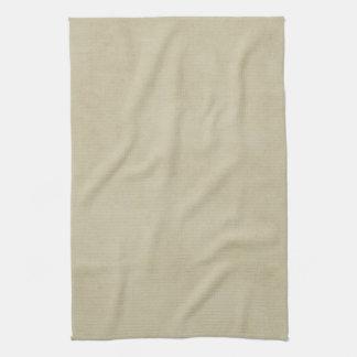 Vintage Cream Avocado Paper Parchment Background Hand Towels