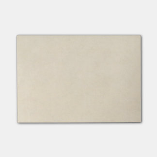 Vintage Cream Parchment Antique Paper Post-it® Notes