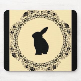 Vintage_Cream_Rabbit-II(c)_Unisex Mouse Pad