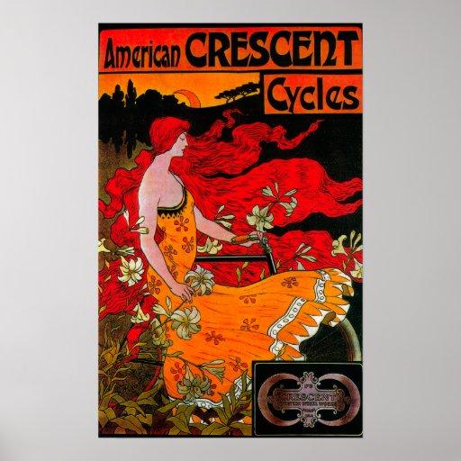 Vintage creciente americano PosterEurope Impresiones