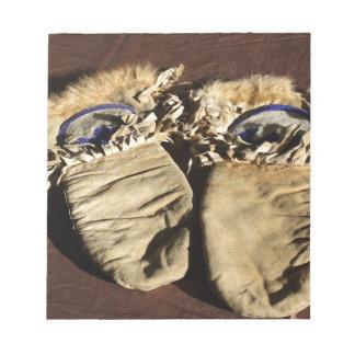 Vintage Cree Mittens Notepad