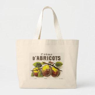 Vintage Creme d'Abricots Ad - Bag