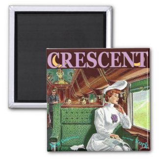 Vintage Crescent Train Ride Magnet
