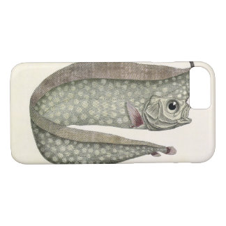 Vintage Crested Oarfish Fish, Marine Aquatic Life iPhone 7 Case