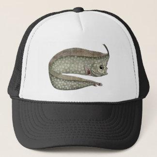 Vintage Crested Oarfish Fish, Marine Aquatic Life Trucker Hat
