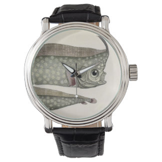 Vintage Crested Oarfish Fish,Marine Aquatic Life, Wrist Watch