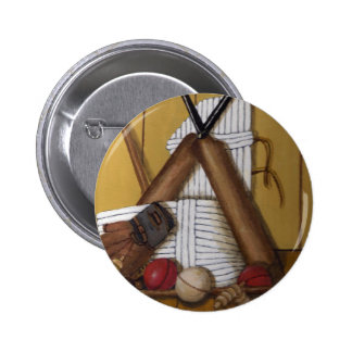 Vintage Cricket Button