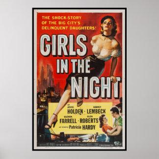 Vintage Crime Drama Film Movie Poster