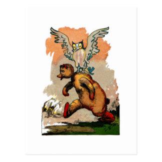 Vintage Critters Tin Woodman Postcard