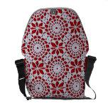 Vintage Crochet Pattern Courier Bag