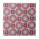 Vintage Crochet Pattern Tiles