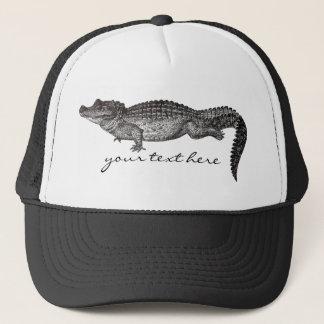 Vintage Crocodile Hat