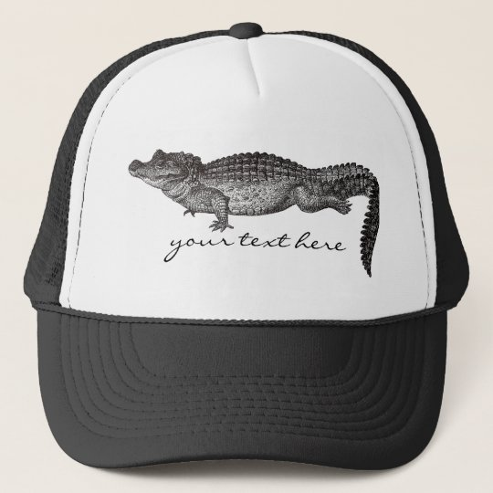 Vintage Crocodile Hat