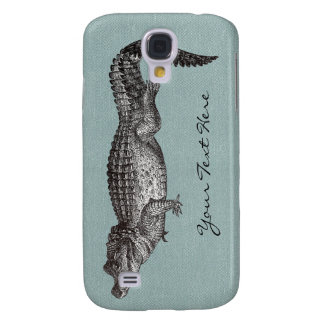 Vintage Crocodile iPhone 3 Case
