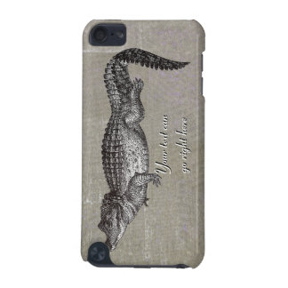 Vintage Crocodile iPod Case