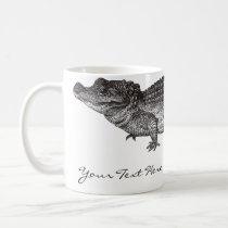 Vintage Crocodile Mug